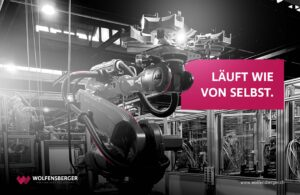 Automation Stahlguss-Produktion
