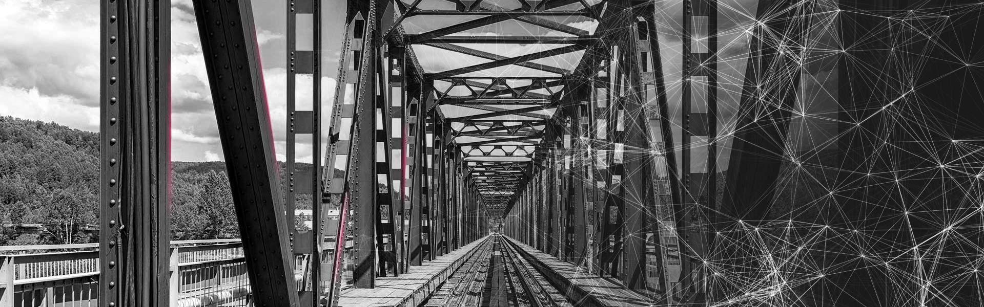 Stahl und Eisen für Bahnindustrie, Schienenbau