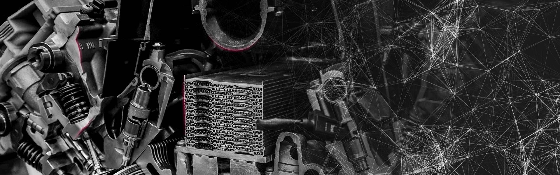 Stahl und Eisen für Fahrzeugindustrie